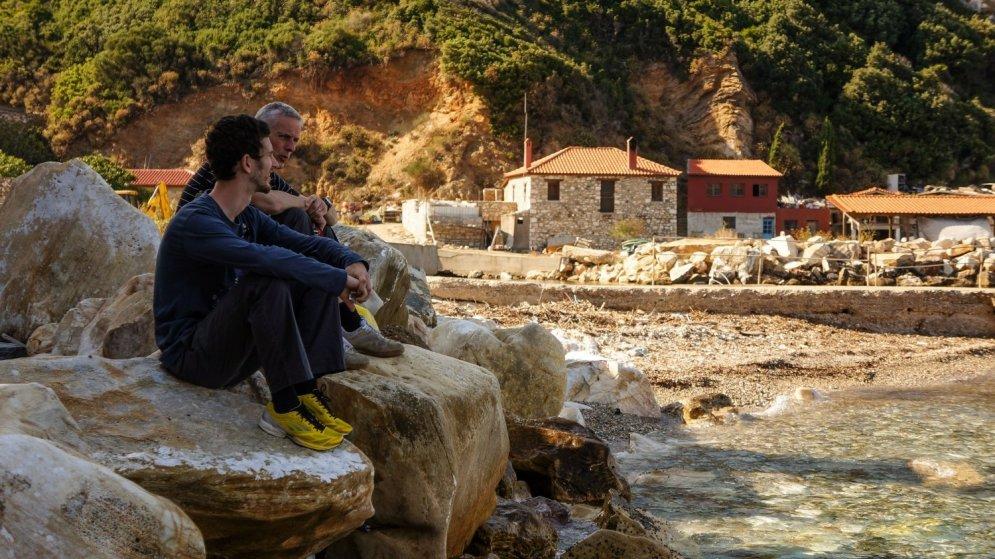 Vieta Grieķijā, kurā ir aizliegtas sievietes un bērni