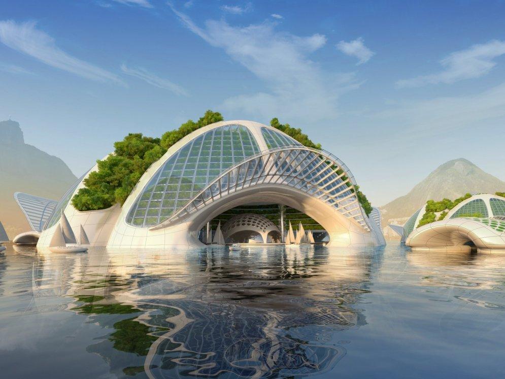 Ieskats nākotnes pasaulē: pirmie debesskrāpji zem ūdens