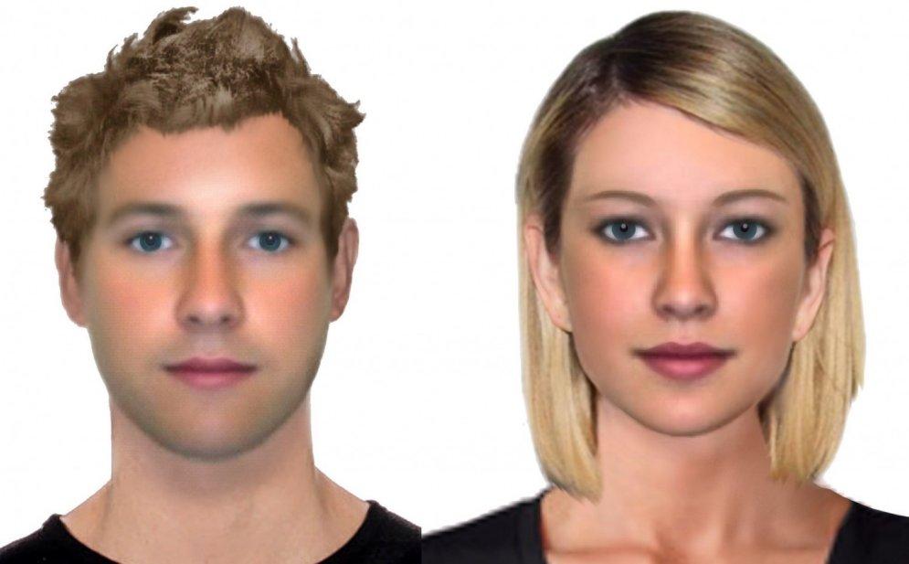 Zinātnieki izskaitļojuši ideāli skaistas cilvēku sejas