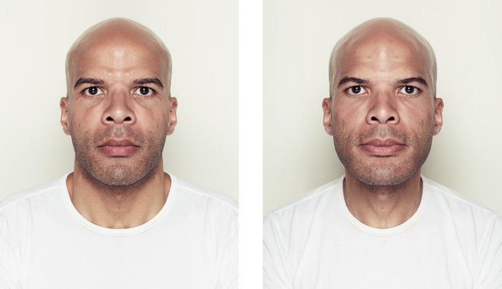Kā izskatītos, ja cilvēkiem būtu pilnīgi simetriskas sejas
