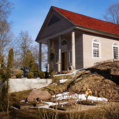 Bēržu kapu kapličas restaurācija