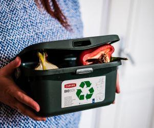 Pirmais solis bio atkritumu šķirošanai
