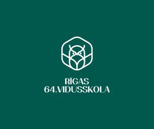 Rīgas 64. vidusskolas grafiskā identitāte