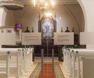 Multimediāla ekspozīcija Rubenes baznīcā